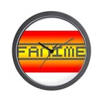 Fanime Wall Clock