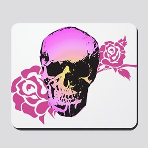 Skull and Roses Mousepad