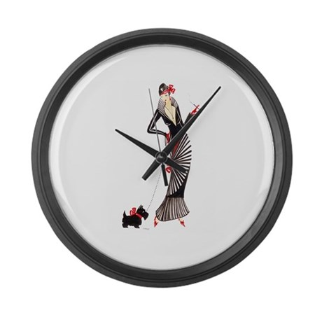 Darcey.png Large Wall Clock