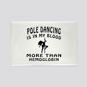 Pole Dancin Designs Rectangle Magnet