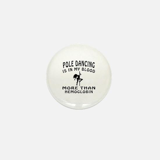 Pole Dancin Designs Mini Button