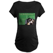 Got Entlebucher? Woof Cloud Green Maternity Dark T