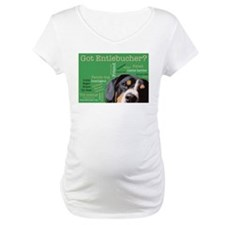 Got Entlebucher? Woof Cloud Green Maternity T-Shir