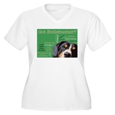 Got Entlebucher? Woof Cloud Green Women's Plus Siz