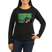 Got Entlebucher? Woof Cloud Green Women's Long Sle