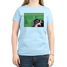 Got Entlebucher? Woof Cloud Green Women's Light T-