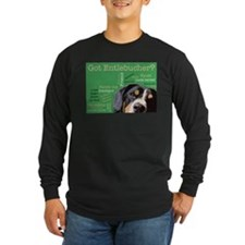 Got Entlebucher? Woof Cloud Green Long Sleeve Dark