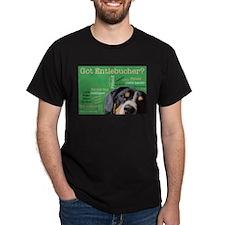 Got Entlebucher? Woof Cloud Green Dark T-Shirt