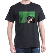 Got Entlebucher? Woof Cloud Green Dark T-Shirt