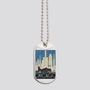 Chicago Waterfront Dog Tags