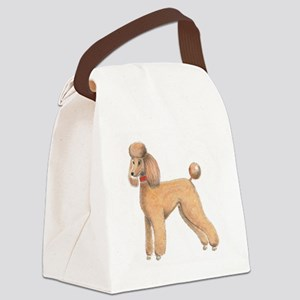 Peaches Canvas Lunch Bag