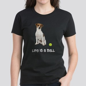 Jack Russell Terrier Life Women's Dark T-Shirt