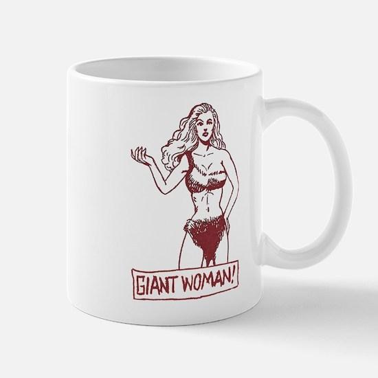 Giant Woman Mug