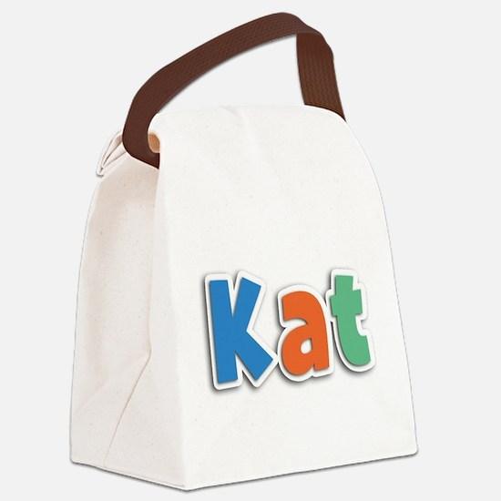 Kat Spring11B Canvas Lunch Bag