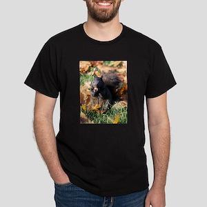 Squirrel Eating Dark T-Shirt