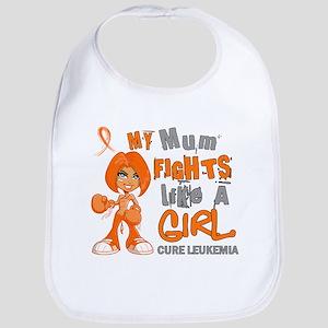 Licensed Fight Like a Girl 42.9 Leukemia Bib
