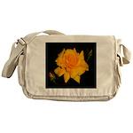 Yellow rose Messenger Bag