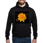 Yellow rose Hoodie (dark)