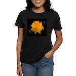 Yellow rose Women's Dark T-Shirt