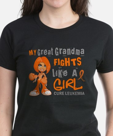 Licensed Fight Like a Girl 42 Women's Dark T-Shirt