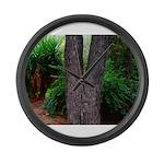 Tree Large Wall Clock