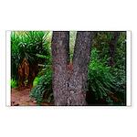 Tree Sticker (Rectangle 10 pk)