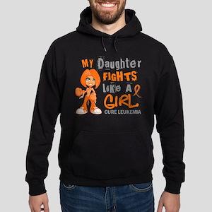 Licensed Fight Like a Girl 42.9 Leuk Hoodie (dark)