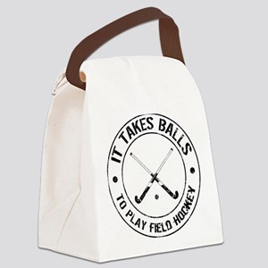 It Takes Balls To Play Field Hockey Canvas Lunch B