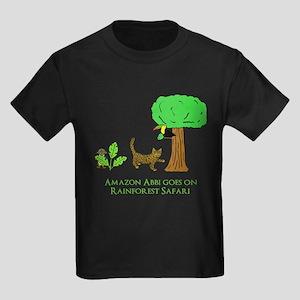 Rainforest Safari Kids Dark T-Shirt