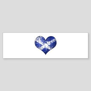 Scottish heart Sticker (Bumper)