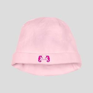 Unicorn Seahorse baby hat