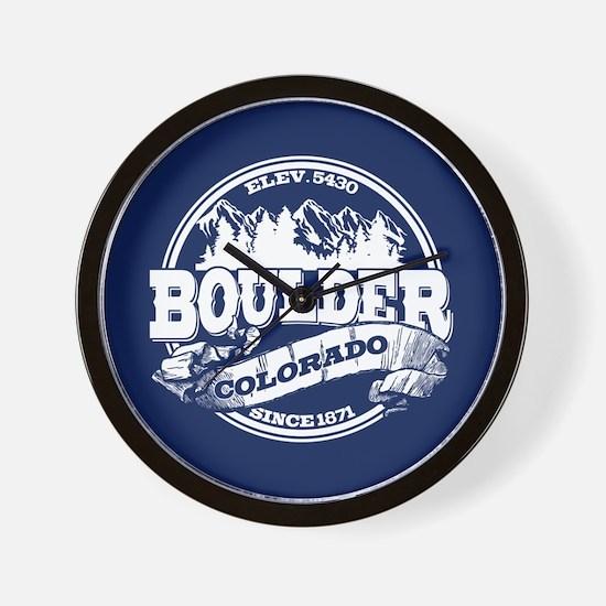 Boulder Old Circle Wall Clock