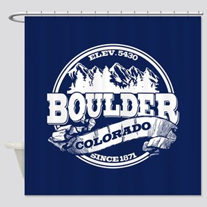 Boulder Old Circle Shower Curtain