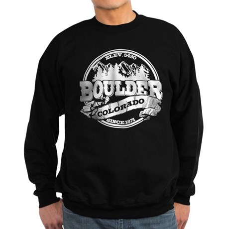 Boulder Old Circle Sweatshirt (dark)