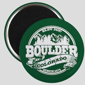 Boulder Old Circle Magnet