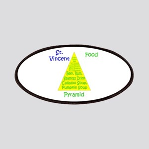 St. Vincent Food Pyramid Patches