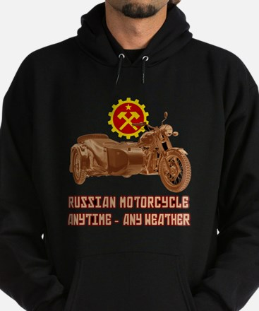 Russian Motorcycle: Anytime - any weather Hoodie