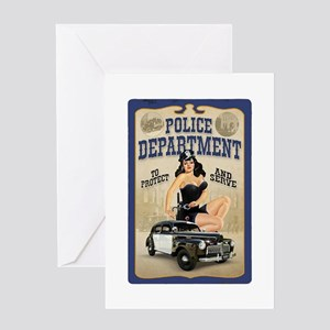 Police Department Greeting Card
