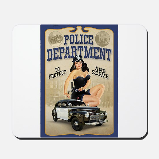 Police Department Mousepad