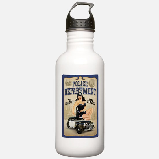 Police Department Water Bottle