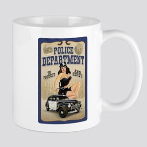 Police Department Mug