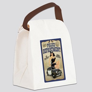 Police Department Canvas Lunch Bag