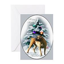 Boerboel Christmas Greeting Card