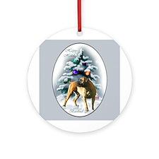 Boerboel Christmas Ornament (Round)