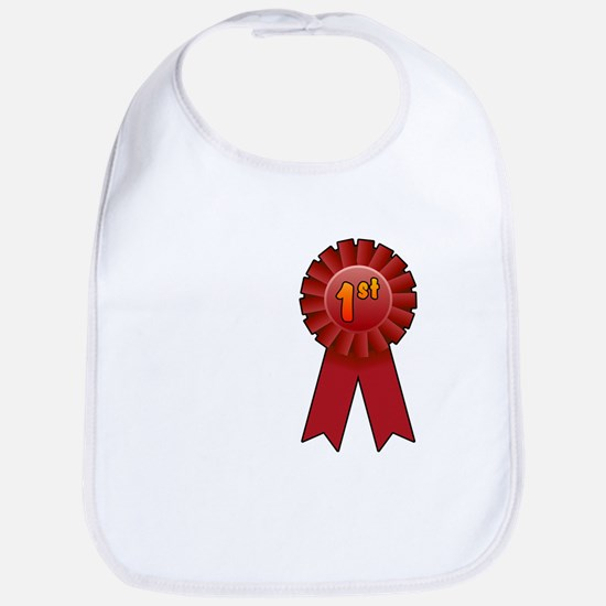 1st Place Ribbon Bib