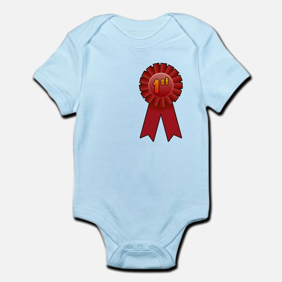 1st Place Ribbon Infant Bodysuit