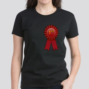 1st Place Ribbon Women's Dark T-Shirt