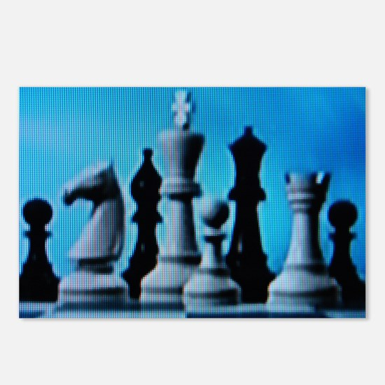 CHESS LOVE™ Postcards (Package of 8)
