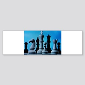 CHESS LOVE™ Sticker (Bumper)