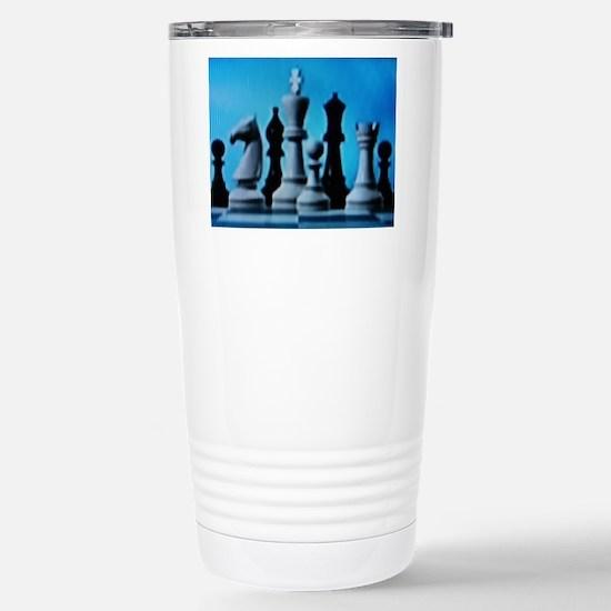 CHESS LOVET Stainless Steel Travel Mug